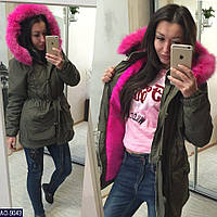 3a649e5d503 Куртка Парка с Натуральным Мехом Мужская — Купить Недорого у ...