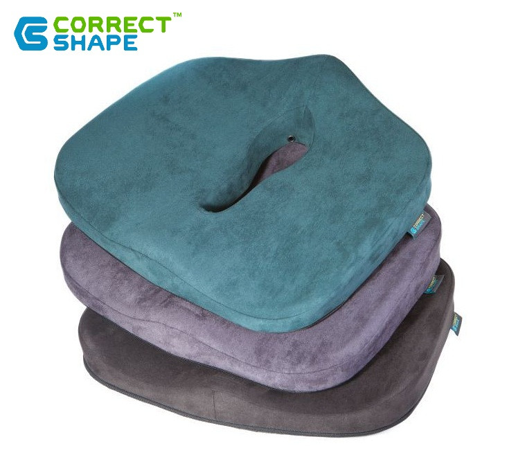 Ортопедическая подушка для сидения - Max Comfort, ТМ Correct Shape . Подушка от геморроя, простатита, подагры