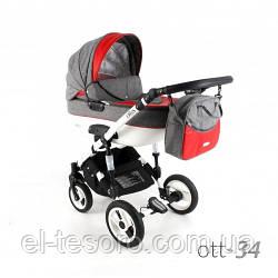 Детская универсальная коляска 3в1 ADBOR OTTIS  OTT-34