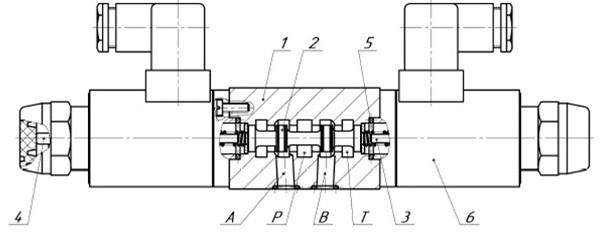 Как работает гидрораспределитель