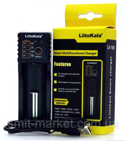 Зарядное устройство повербанк LiitoKala Lii-100