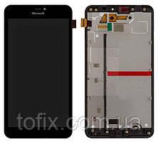 Дисплей для Microsoft (Nokia) Lumia 640 XL (RM-1062, RM-1065, RM-1066, RM-1067), с рамкой, оригинал