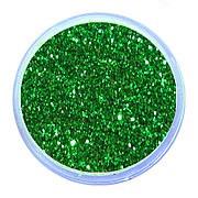 Блеск для дизайна ногтей зеленый