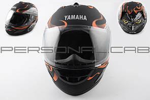 Шлем-интеграл   (mod:HAWK) (size:ХXL, черный матовый) Ш12   YMH