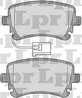 Колодки задние VW T5, Multivan 7H0698451, фото 1