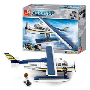Конструктор SLUBAN M38-B0361 (32шт) Авиация,самолет,фигурки,214дет,в кор-ке,28,5-24-5,5см