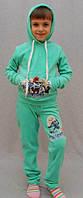 Велюровий спортивний костюм на дівчинку