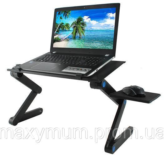Столик для ноутбука с вентилятором на USB