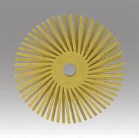 3M™Scotch-Brite™ Bristle BB-ZB - Радиальная щетка 50х9 мм, P80, желтая, 30118