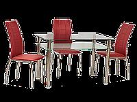 Стол обеденный стеклянный Pixel 70x120 Signal