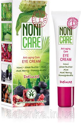 Крем для контура глаз (40+), Омолаживающий , Eye Cream Deluxe, 15мл, Noni care