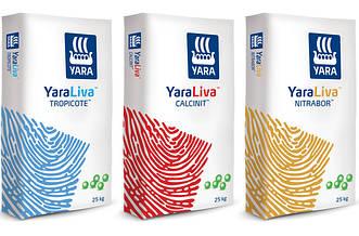 Yara Liva - азотно-кальциевые удобрения, кальциевая селитра для корневой и внекорневой подкормки