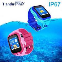 Детские умные часы Smart baby Watch Tiandirenhe A32 Pink водонепроницаемые, фото 4