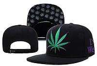 Кепка DGK Stay Smokin Snapback Black-Green-Violet