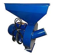 Кормоизмельчитель ДТЗ КР-02 2.5 кВт (зерно - 200 кг\ч, початки кукурузы -85 кг\ч), фото 1