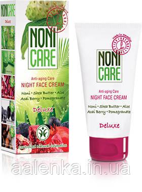 Крем ночной от морщин, (40+) Night Face Cream DELUXE, 50мл, NONI CARE