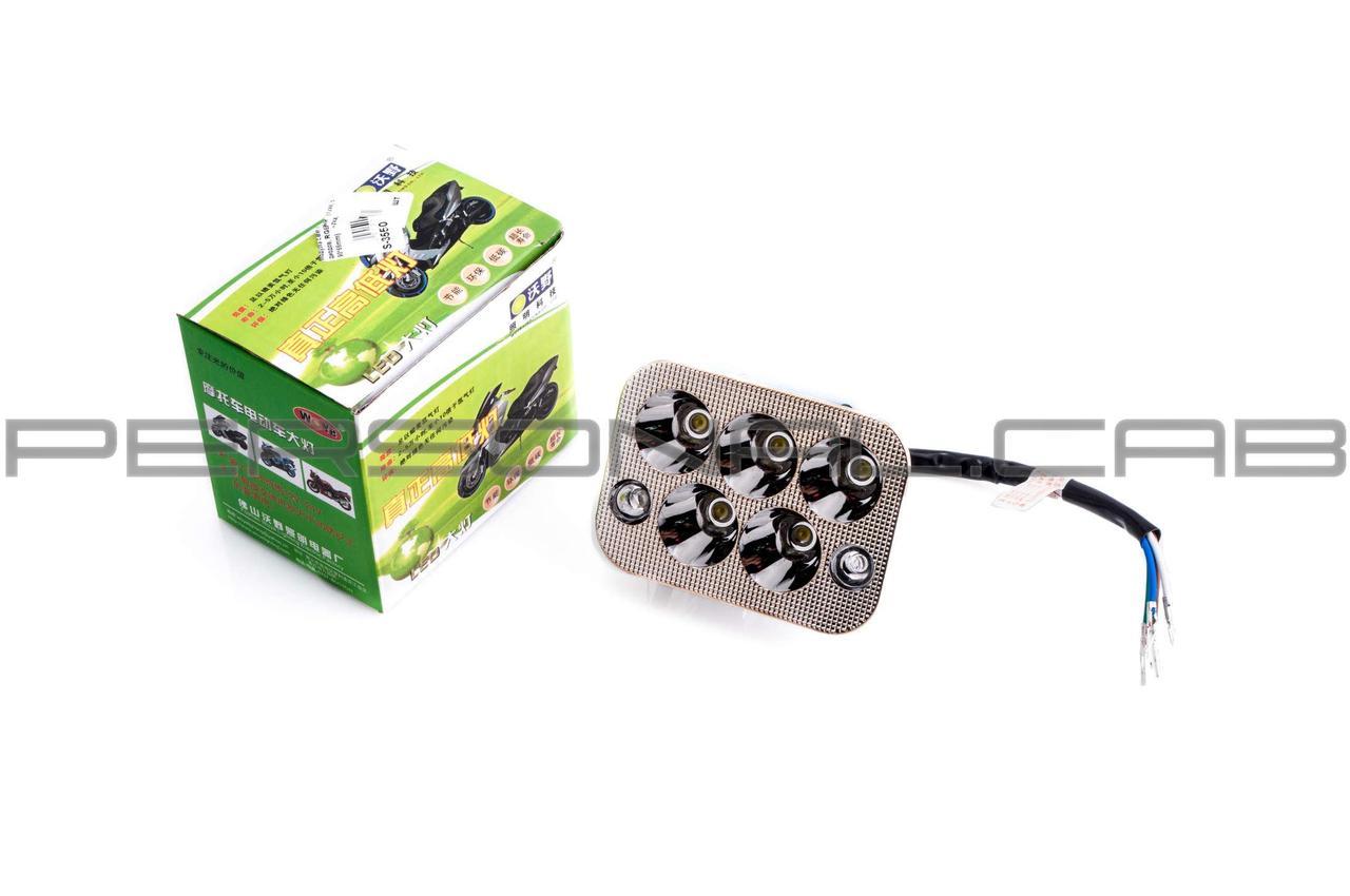 Модуль светодиодный   (12W, 5 диодов, RGB-подсветка, 90*66mm)   GJCT
