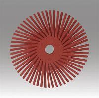 3M™Scotch-Brite™ Bristle BB-ZB - Радиальная щетка 50х9 мм, P220, красная, 30121