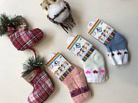 Носки махровые для новорожденных 6-12 месяцев