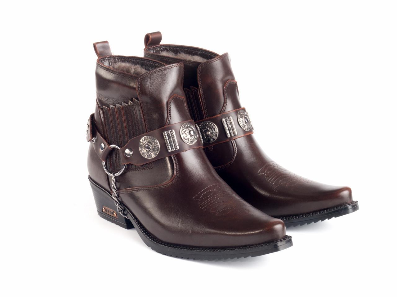 Казаки Etor 63-008-8041-2 43 коричневые