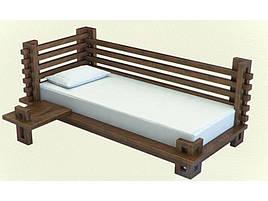Ліжко-диван в дитячу кімнату з натурального дерева Сакура Sovinion