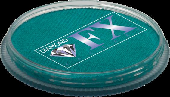 Аквагрим Diamond FX основний Блакитний морський 30g, фото 2