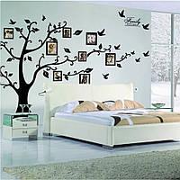 Декор на стену дерево, наклейки в детскую комнату