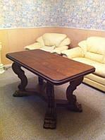 Стол раздвижной из массива (ясень)