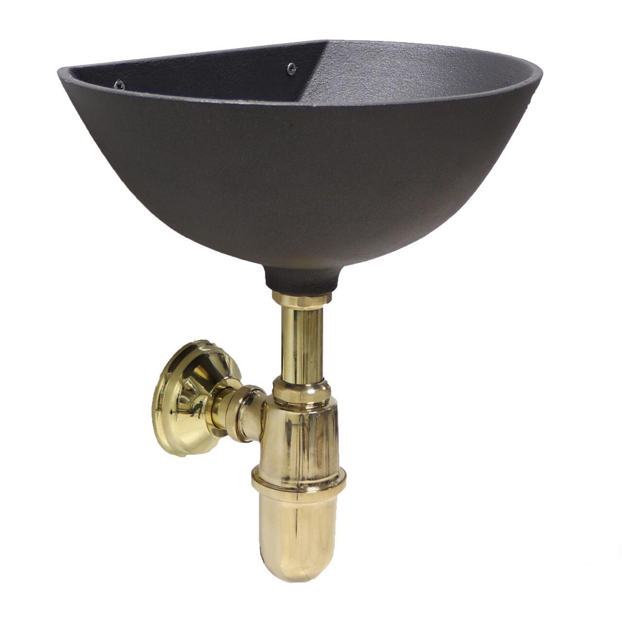 Декоративний сифон золотий Lucido Nopiletta