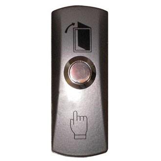 Кнопка выхода EXIT 805 узкая (накладная, алюминиевая) - Фараон-2000 Системы безопасности и видеонаблюдения в Черкассах