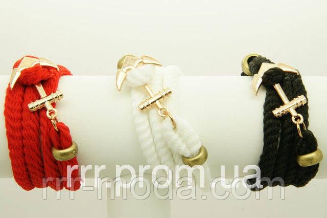 фото браслеты с якорями оптом