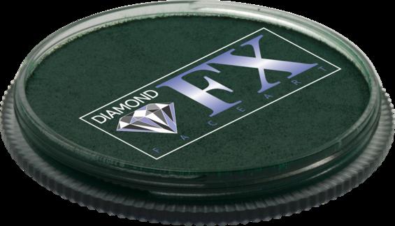 Аквагрим Diamond FX основний Зелений темний 30g, фото 2