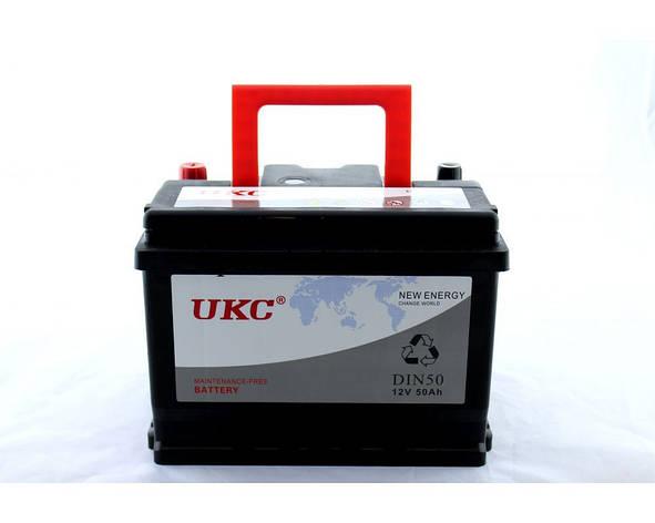 Акумулятор Автомобільний 12v 50A UKC PR5, фото 2