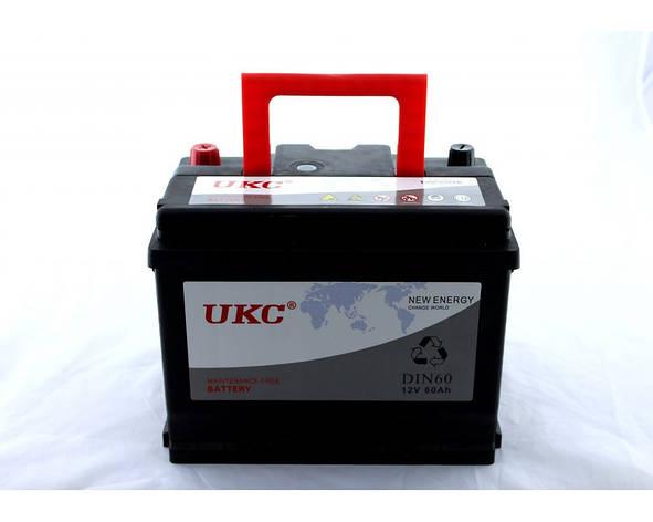 Акумулятор Автомобільний 12v 60A UKC, фото 2