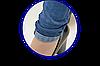Джинсы женские синие Очки с отворотом  27 - 32, фото 5