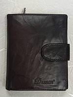 Кошелек кожаный для денег и карточек универсальный компактный (Турция)