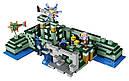 """Конструктор Bela 10734 Minecraft """"Подводная крепость"""" 1134 деталей, фото 3"""