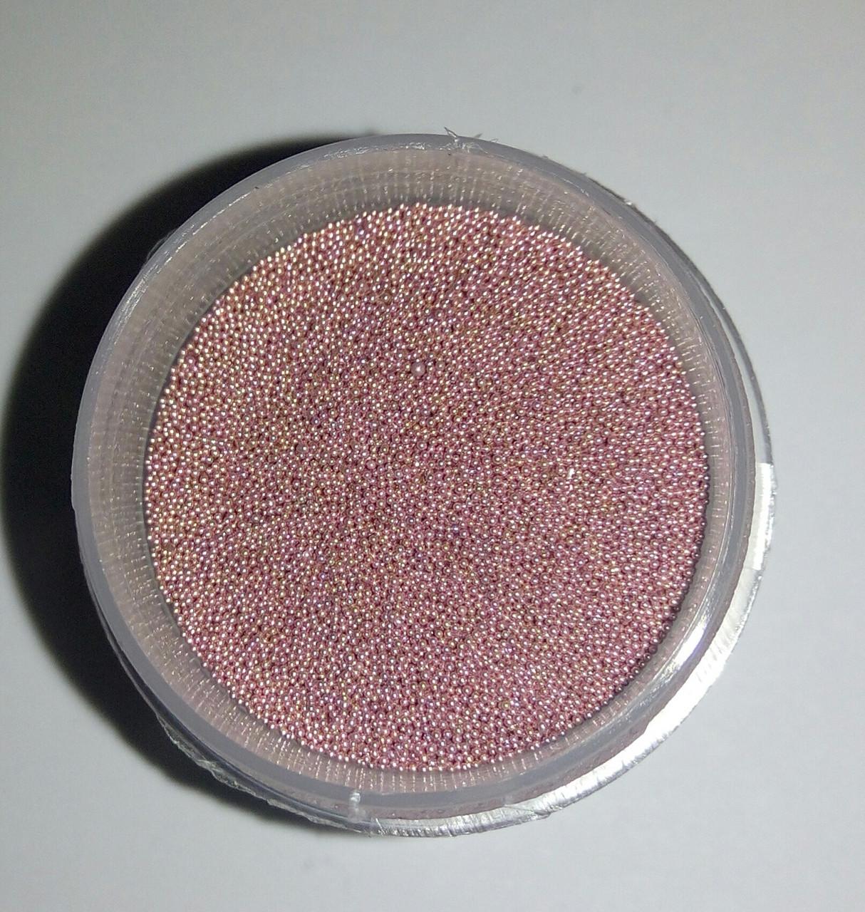 Бульйонки (мікробісер) ROSA Talent  0,1-0,3мм  15г  Блідо-рожеві