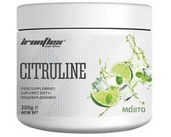 Цитруллин IronFlex - Citrulline (200 грамм) mojito/мохито