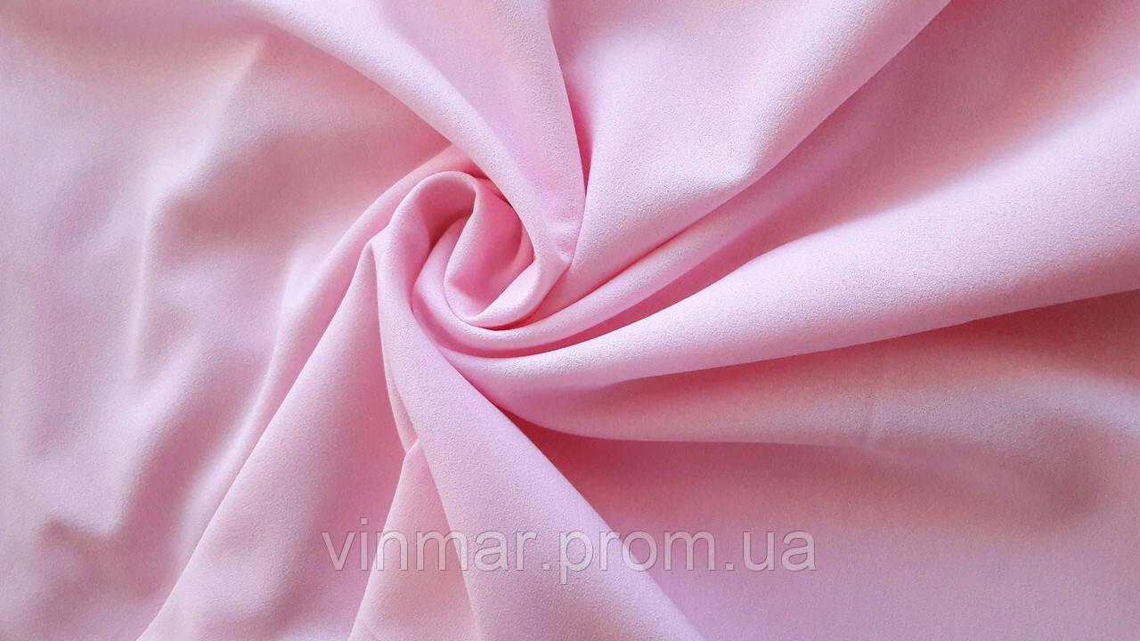Креп шифон розовый
