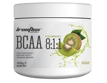 Аминокислоты IronFlex - BCAA 8:1:1 (200 грамм) kiwi/киви