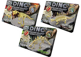 """Набор для проведения раскопок """"DINO PALEONTOLOGY"""" 6377 большое поле для раскопок (2 скелета динозавров)"""