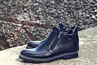Мужские ботинки кожаные, натуральная кожа , фото 1