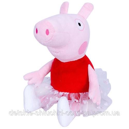 "Мягкая игрушка ""Свинка Пеппа Балерина"" 28 см 00098-9."