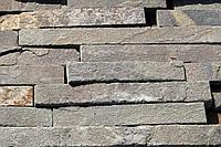 Днепровский плитка серо-зеленая 3 см. - 6 см.
