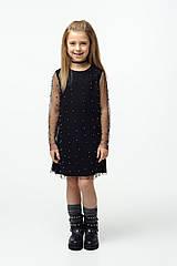 Платье с бусинками your SPACE 116 см Черное 1101-1-1, КОД: 305447
