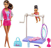 Кукла Барби фитнес-тренер с аксессуарами Barbie, фото 1