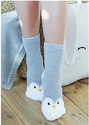 Теплые подарочные носочки Пингвины!
