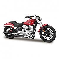Модель мотоцикла (1:18)  Harley-Davidson в асорт. - сер.35 (6 вид.х4) MAISTO (39360-35)