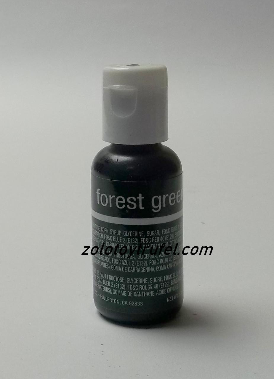 """Краситель гелевый """"Forest Green 20 мл"""",Chefmaster"""